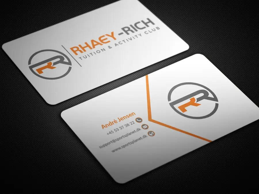 Entry #34 by BikashBapon for Design some Business Cards and Letter - club card design