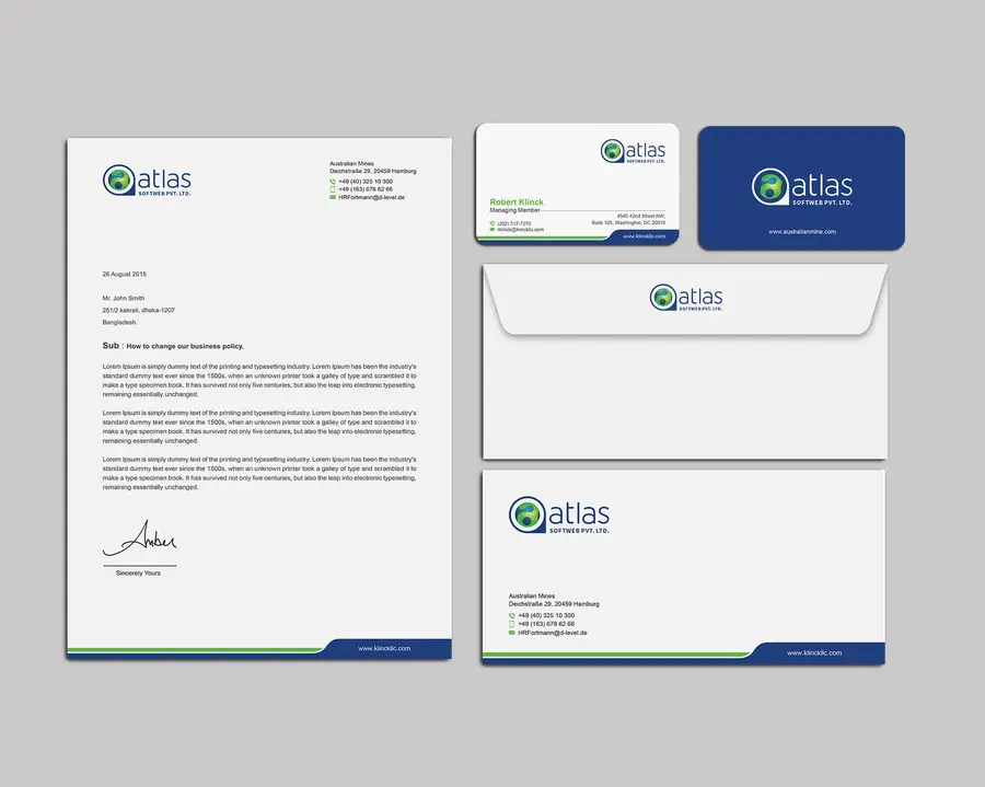 Entry #28 by mamun313 for Stationary Design - Letterhead, Envelope - letterhead and envelope design