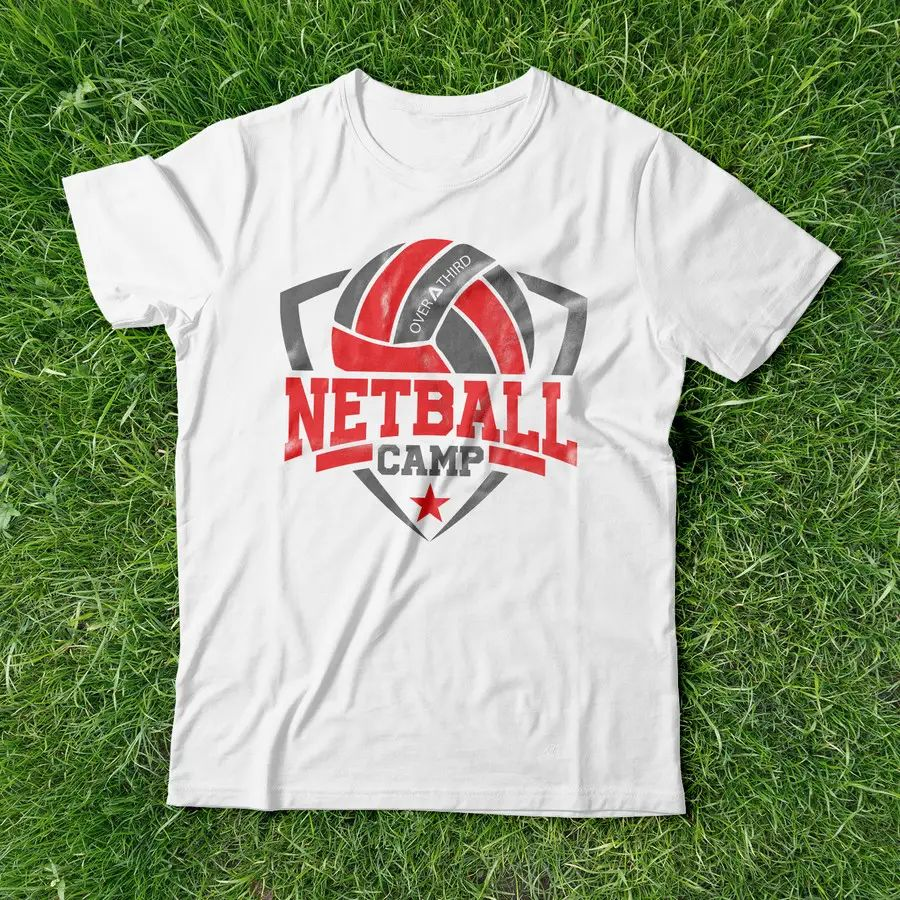 35 for netball camp t shirt design by karlparan