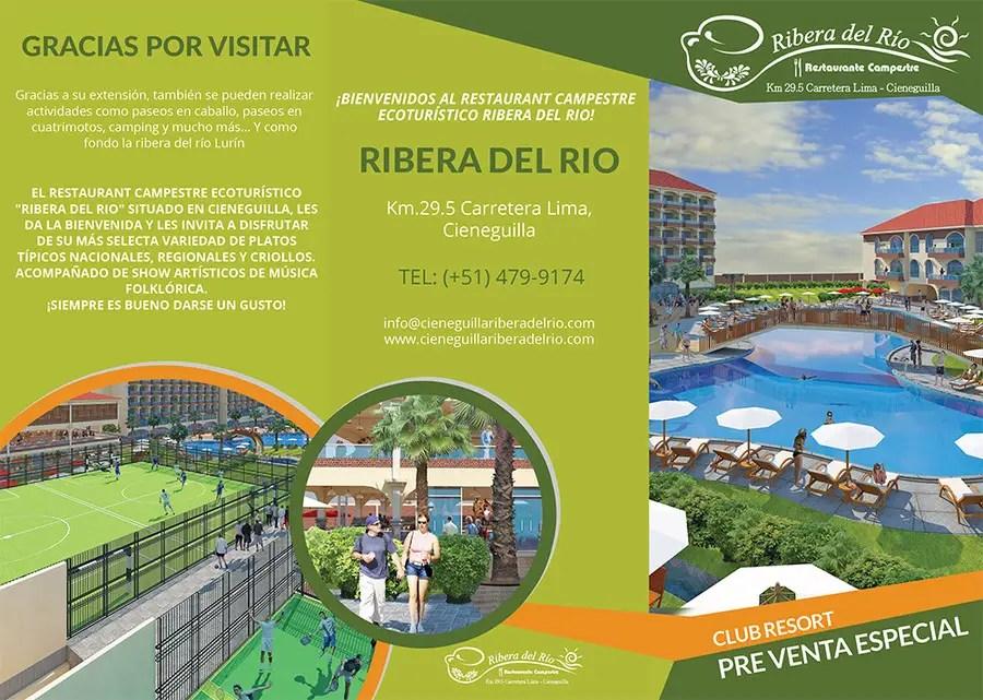 Entry #58 by brandspixel for Diseño Brochure Resort Freelancer