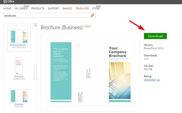 powerpoint brochure templates free - powerpoint brochure templates free