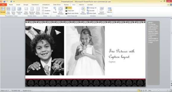 Photo Album Powerpoint Templates Free - photo album templates free