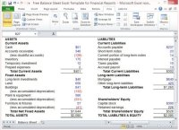 Free Balance Sheet Excel Template For Financial Reports ...
