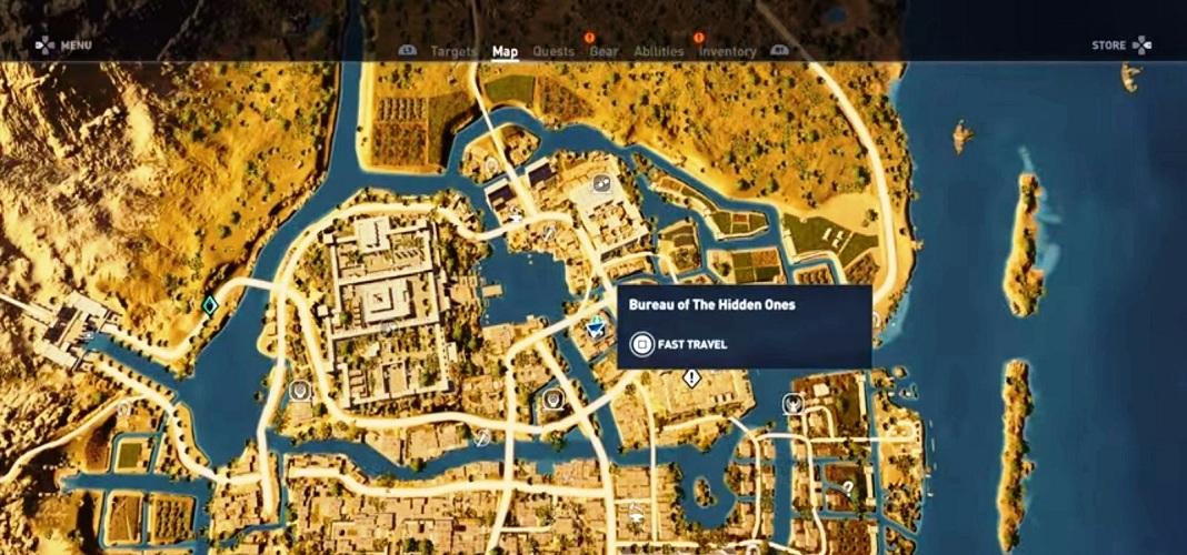 Legendary Store Location \u2013 Assassin\u0027s Creed Origins