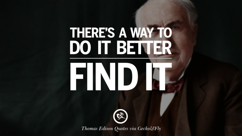 10 Empowering Quotes By Thomas Edison On Hard Work And Success