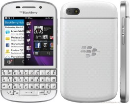 Image result for blackberry q10 white