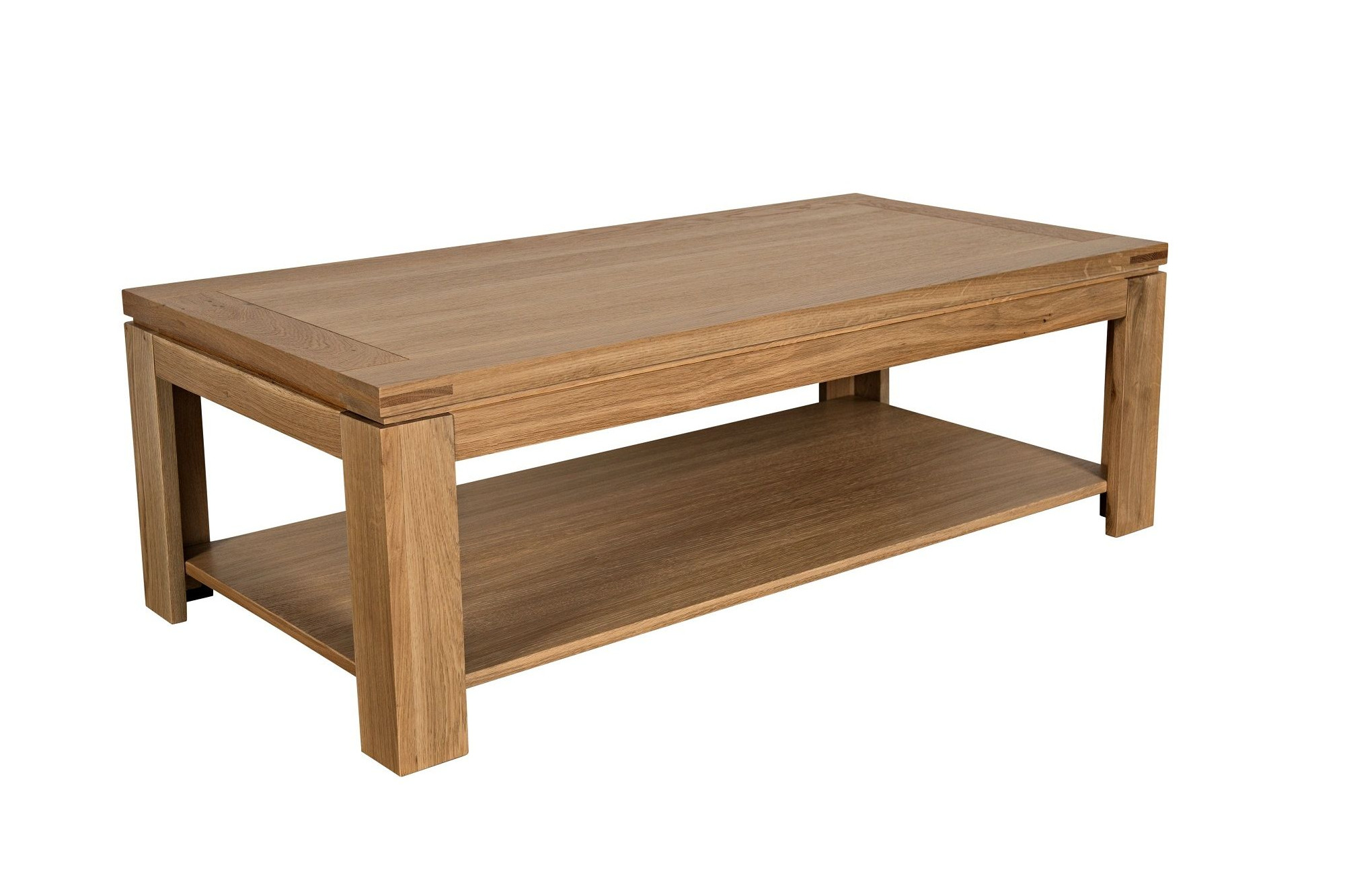 Table Basse Chene Table Basse Moderne En Bois Massif Chene De France Hellin