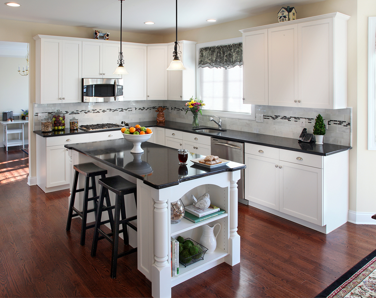 what countertop looks best with white cabinets kitchen cabinets and countertops