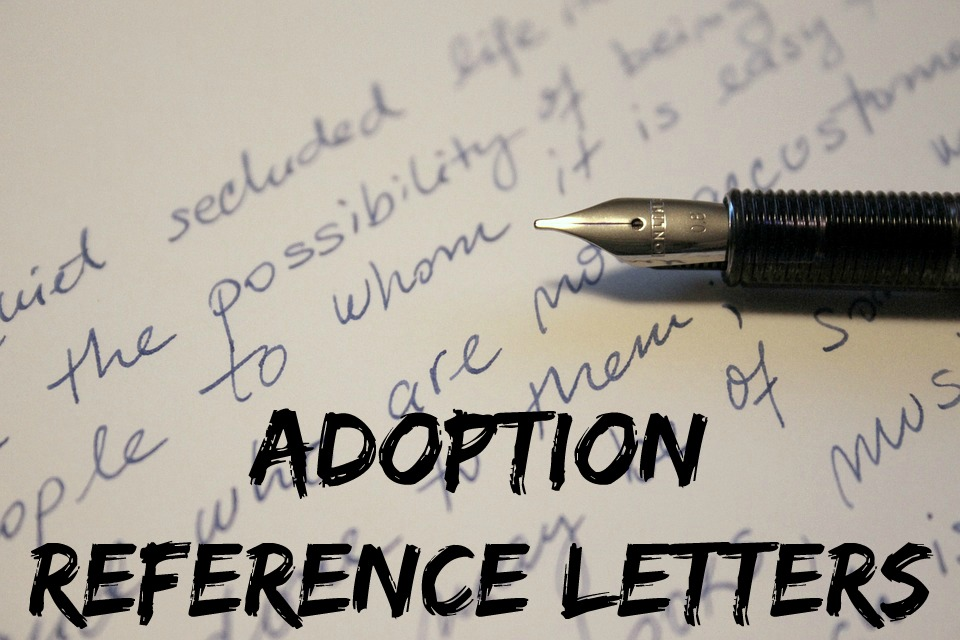 Character Reference Letters Adoption Reference Letters How To