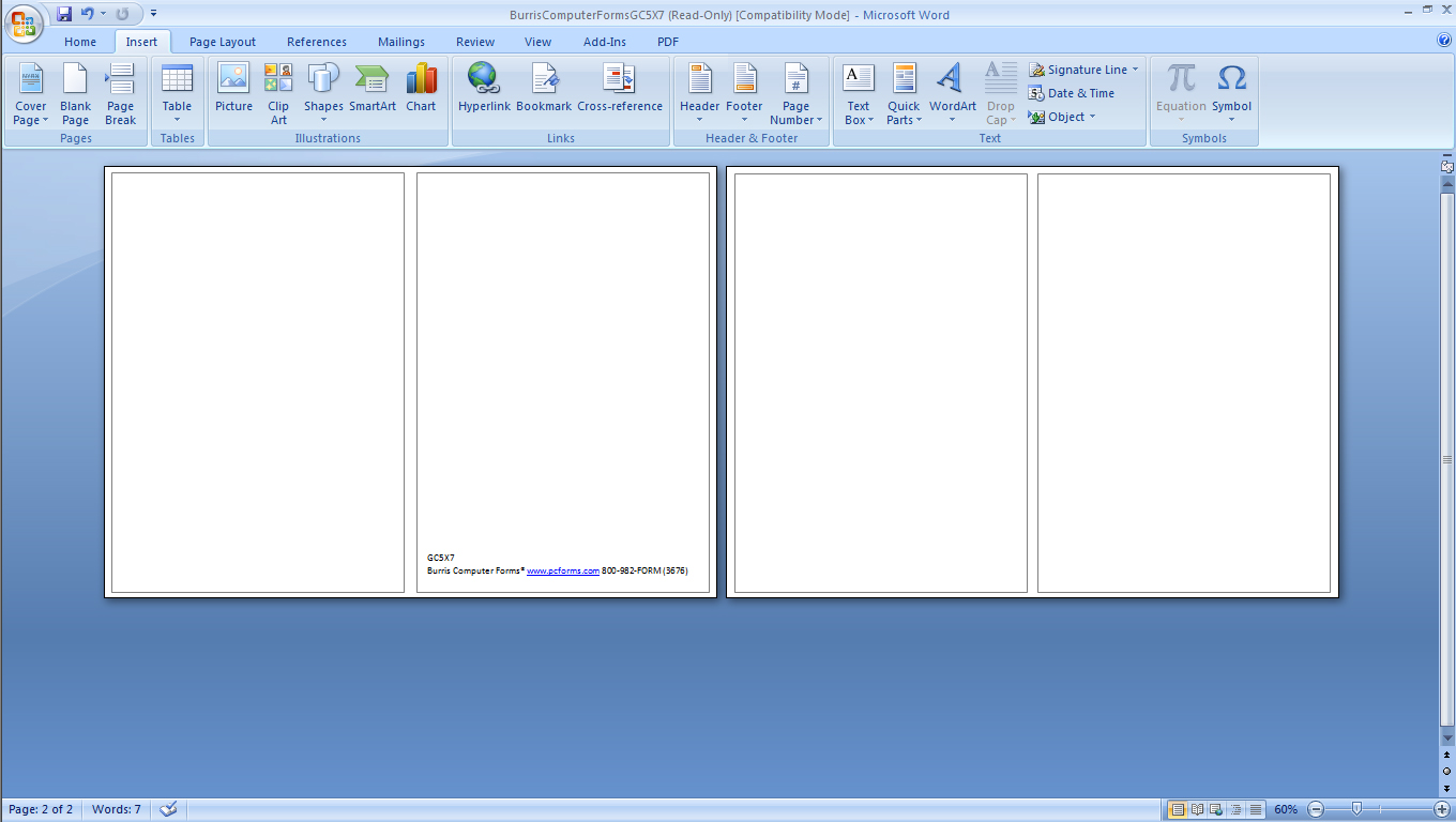 Free Ms Word Templates – Free Greeting Cards Templates for Word