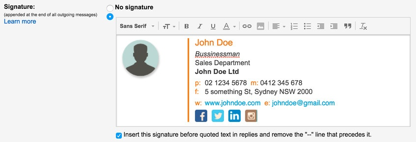 Free Email Signature Template Generator by HubSpot - outlook signature template