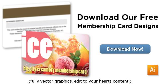 Membership Card Template Free - membership cards templates
