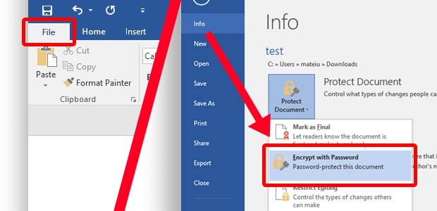 How to Password Protect Excel Files, Word Docs, PowerPoints AVG