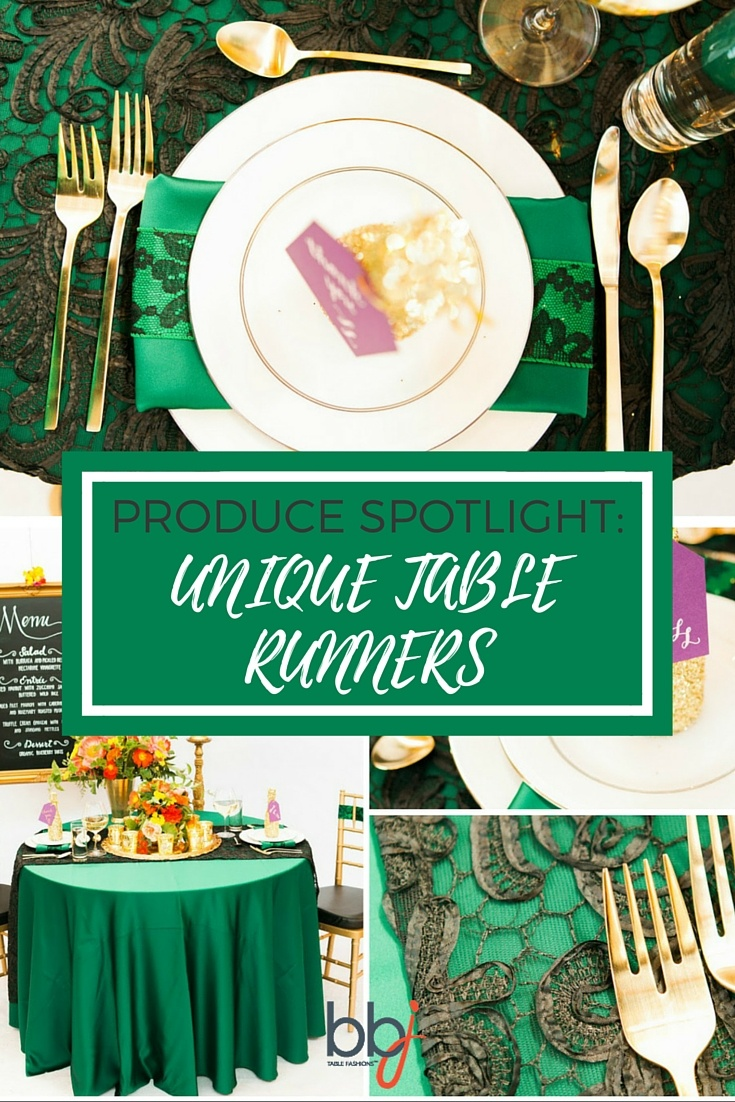 Product Spotlight Unique Table Runners