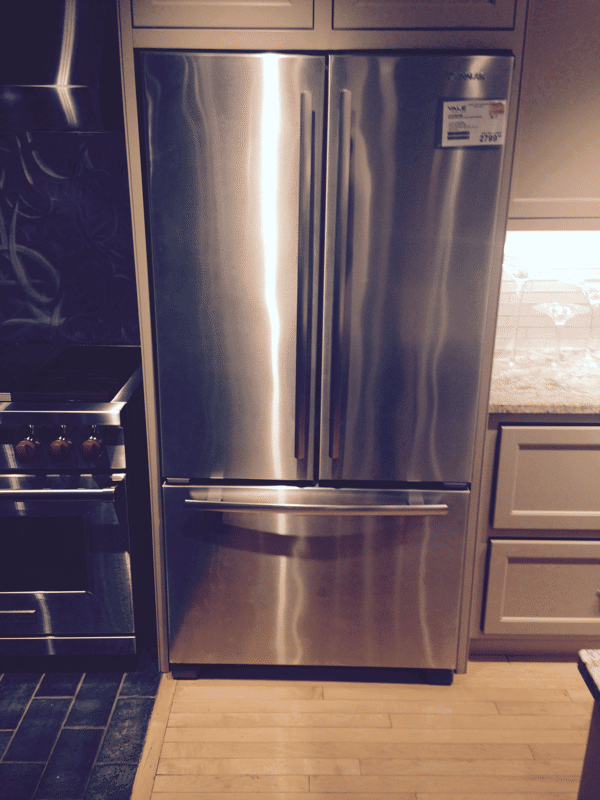 Kitchen Island Depth Best Shallow/regular French Door Refrigerators