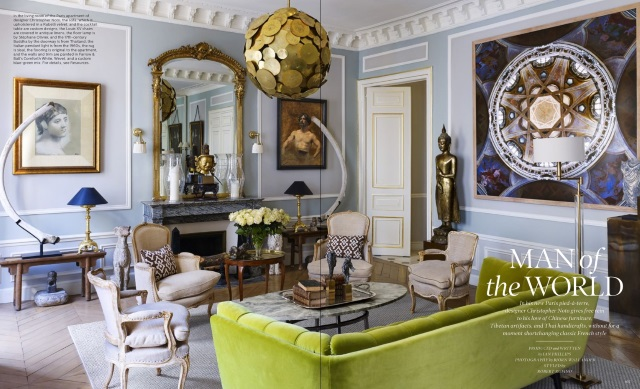Elle Decor May 2016 5 Best Rooms with Designer Rugs - elle decor living rooms
