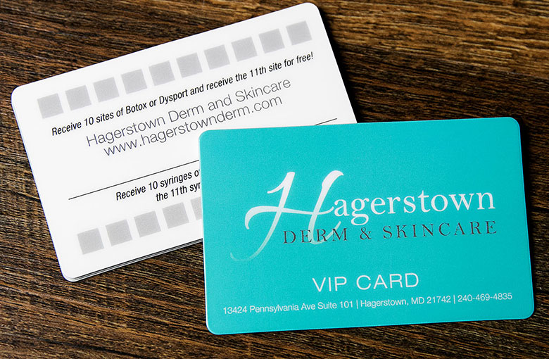 Custom Loyalty  VIP Card Inspiration Plastic Printers