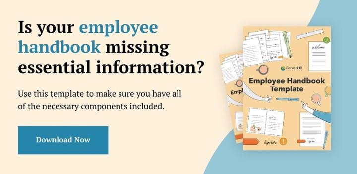 Your employee handbook A free template - Genesis HR Solutions