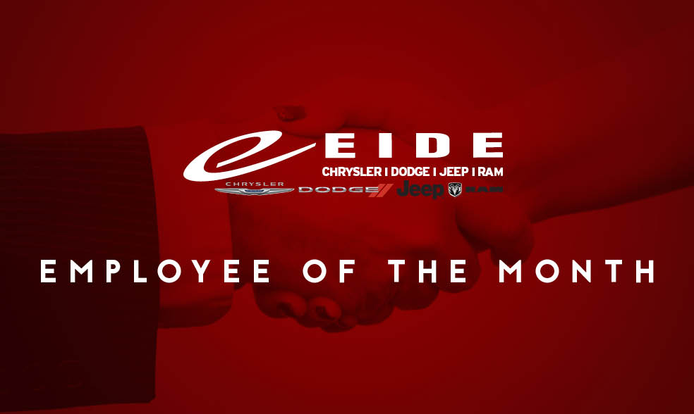 Congratulations to Dani Marks, Eide Chrysler\u0027s Employee of the Month