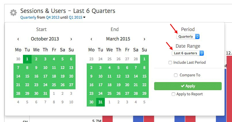 Building a Quarterly SEO Report Template with Megalytic