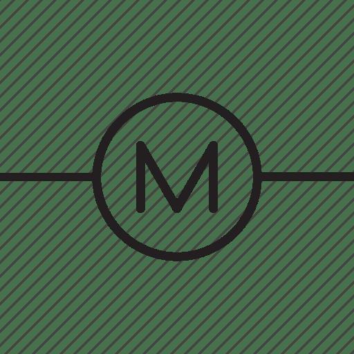 circuit diagram symbol for motor