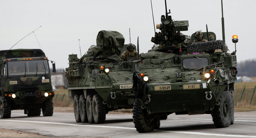 Hiding Tanks US Army Testing Stryker Camouflage Upgrade in Europe