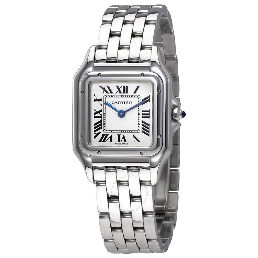 Cartier Watches Cartier Panthere De Cartier Silver Dial Ladies Watch Wspn0007