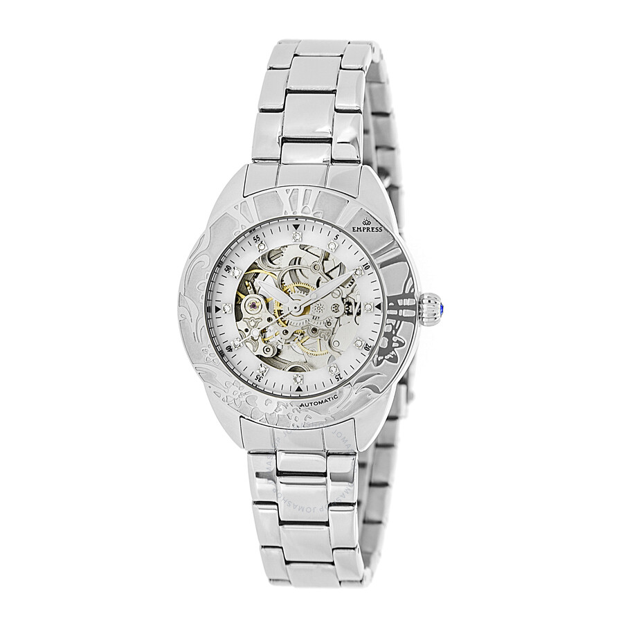I Watch Ladies Empress Godiva Automatic White Dial Ladies Watch Empem1101