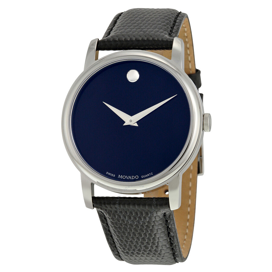 Movado Museum Movado Classic Museum Dark Navy Dial Men's Watch 2100007