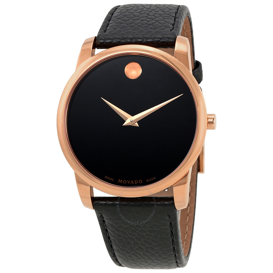 Movado Museum Movado Museum Black Dial Men's Watch 0607060 - Museum