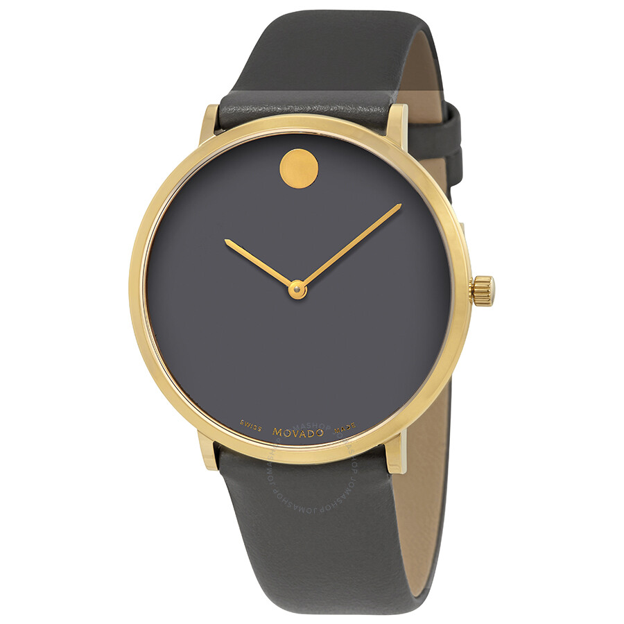 Movado Museum Movado Museum Grey Dial Men's Watch 0607136 - Museum