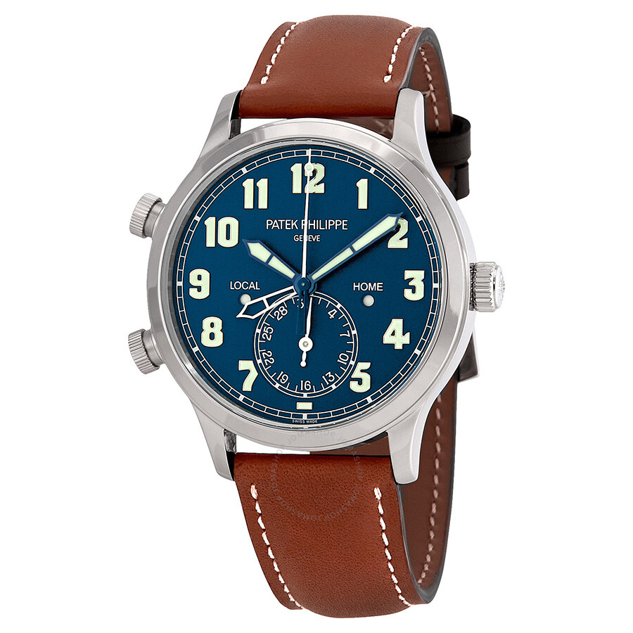 P Philippe Watch Patek Philippe Calatrava Pilot Travel Time Automatic Men S Watch 5524g 001