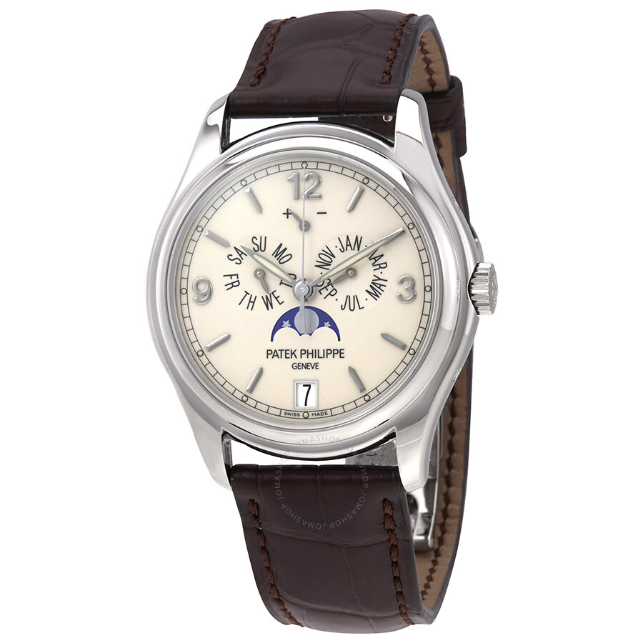 P Philippe Watch Patek Philippe Complicated Annual Calendar 18kt White Gold Automatic Men S Watch 5146g