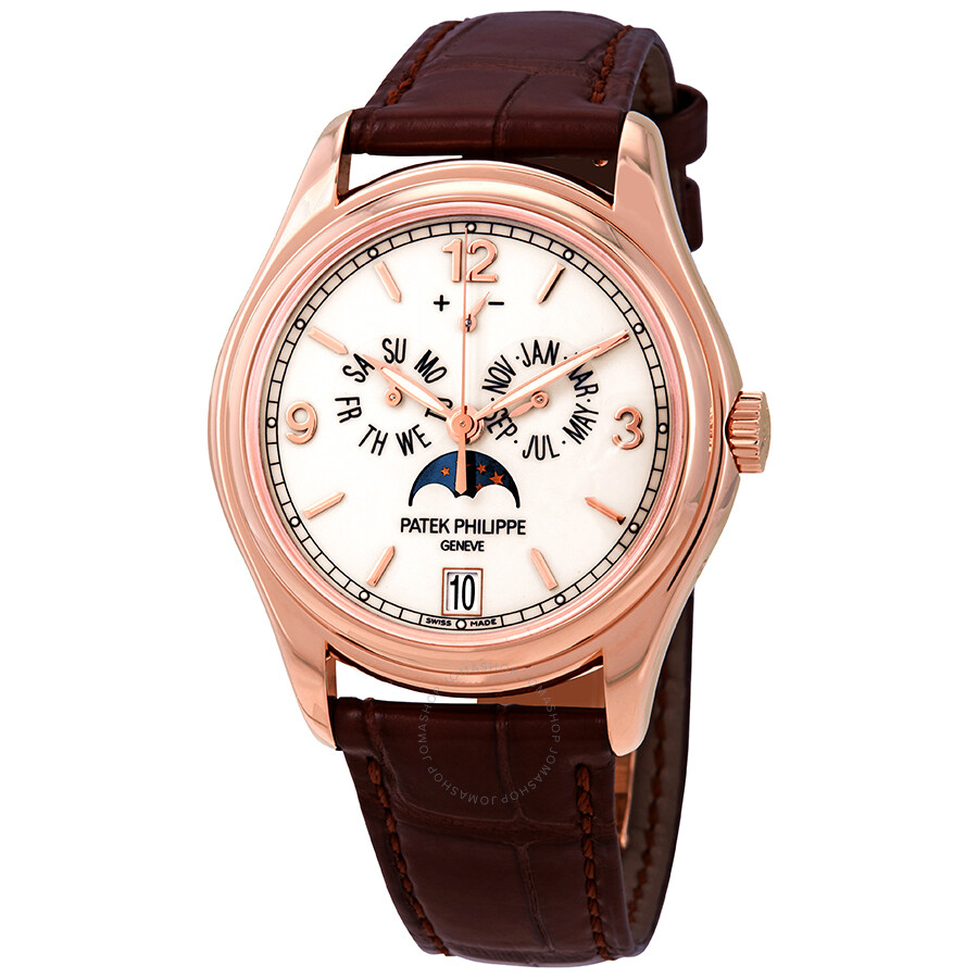 P Philippe Watch Patek Philippe Complications Moonphase Automatic 18 Kt Rose Gold Men S Watch 5146r