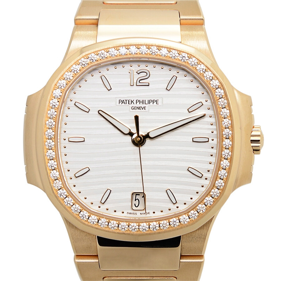 P Philippe Watch Patek Philippe Nautilus Automatic Diamond Ladies Watch 7118 1200r 001