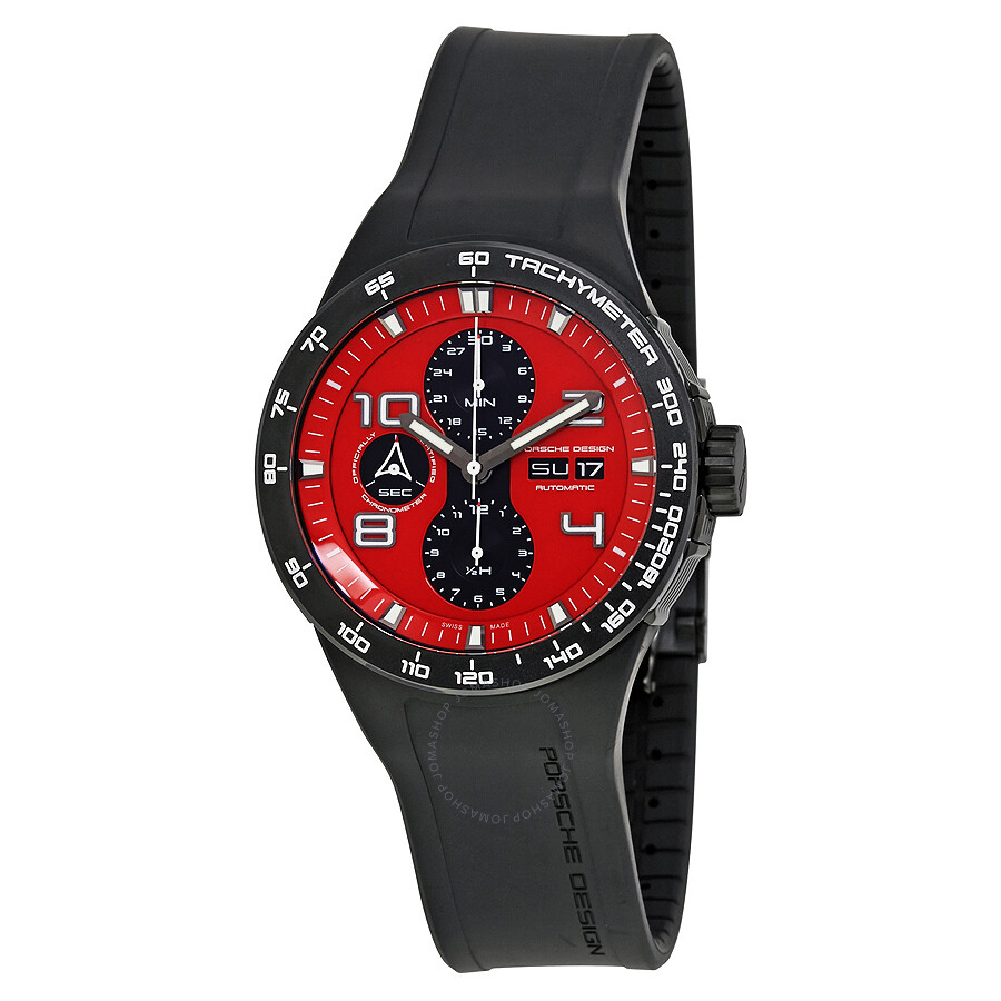 Porsche Design Küchenwaage Porsche Design P'6340 Flat Six Chronograph Men's Watch