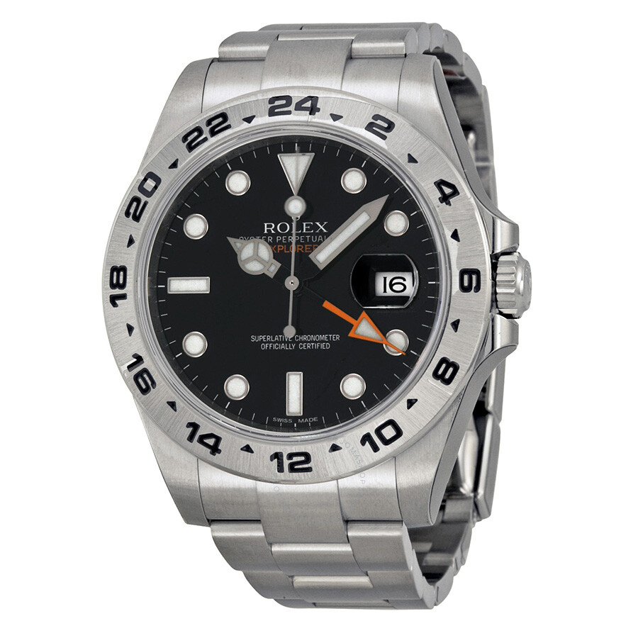 Rolex Explorer Rolex Explorer Ii Black Dial Stainless Steel Oyster Bracelet Automatic Men S Watch 216570bkso