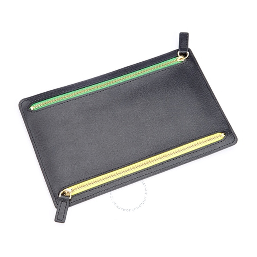 ROYCE RFID Blocking Zippered Currency and Passport Travel Document
