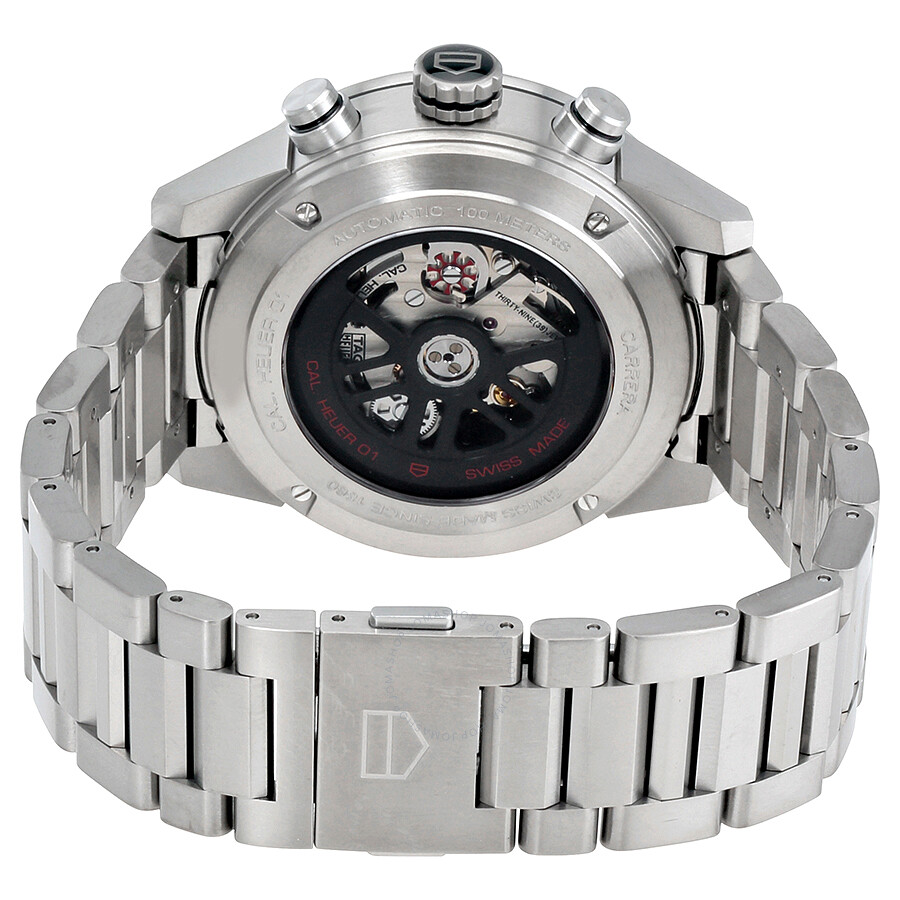 Cariera' Tag Heuer Carrera Chronograph Automatic Grey Dial Men S Watch Car208z Bf0719