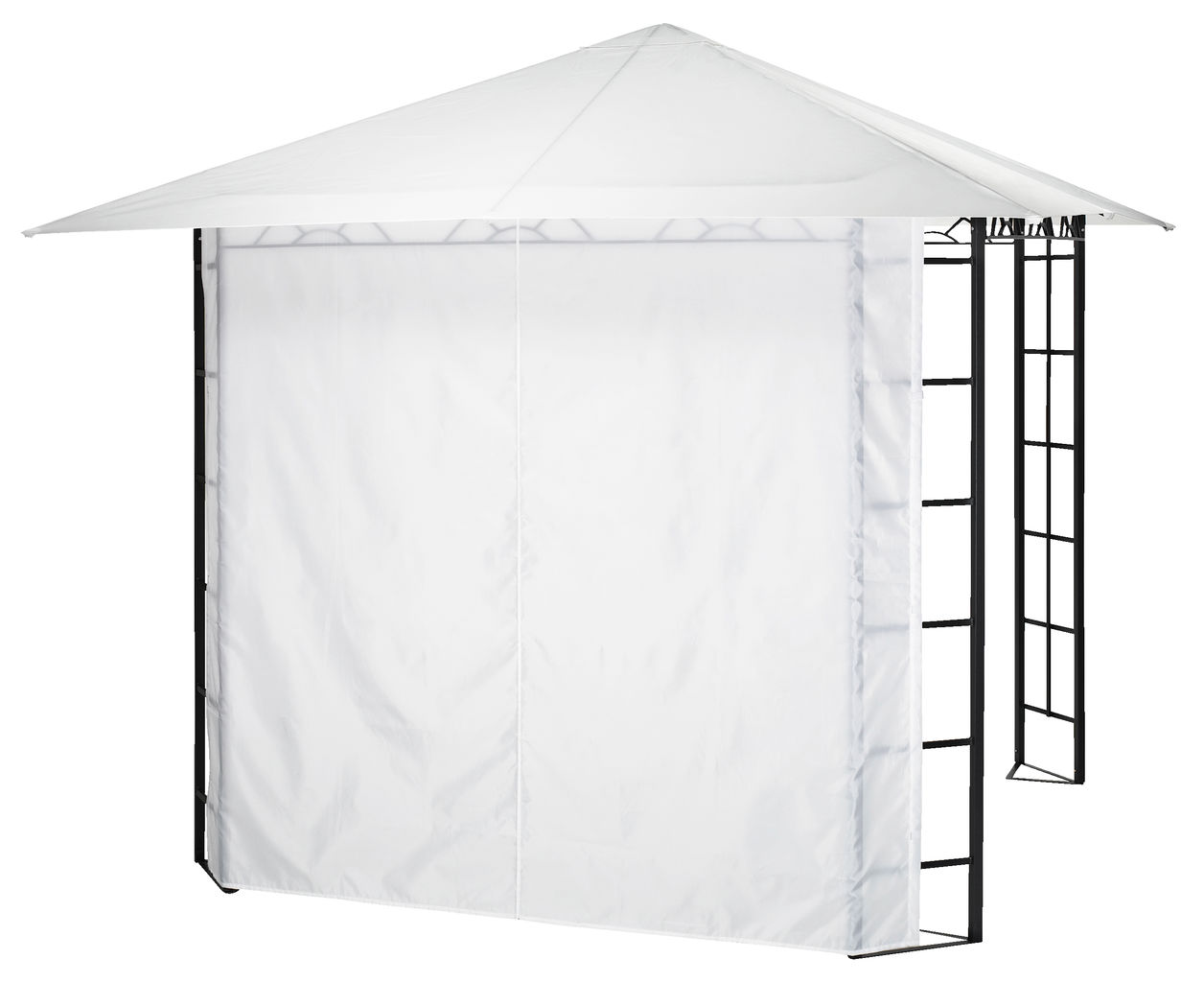 Jysk Tent Gazebo Side Faaborg White