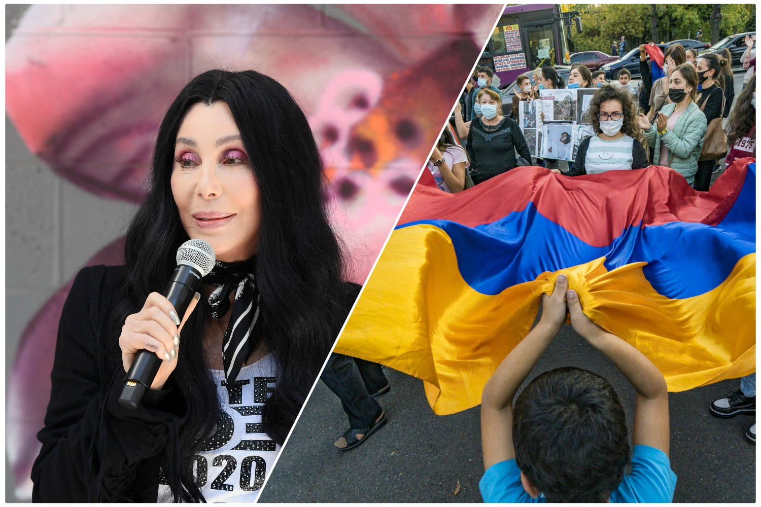 Cher Is The Latest High Profile Person To Urge Americans To Pay Attention To The Crisis In Artsakh