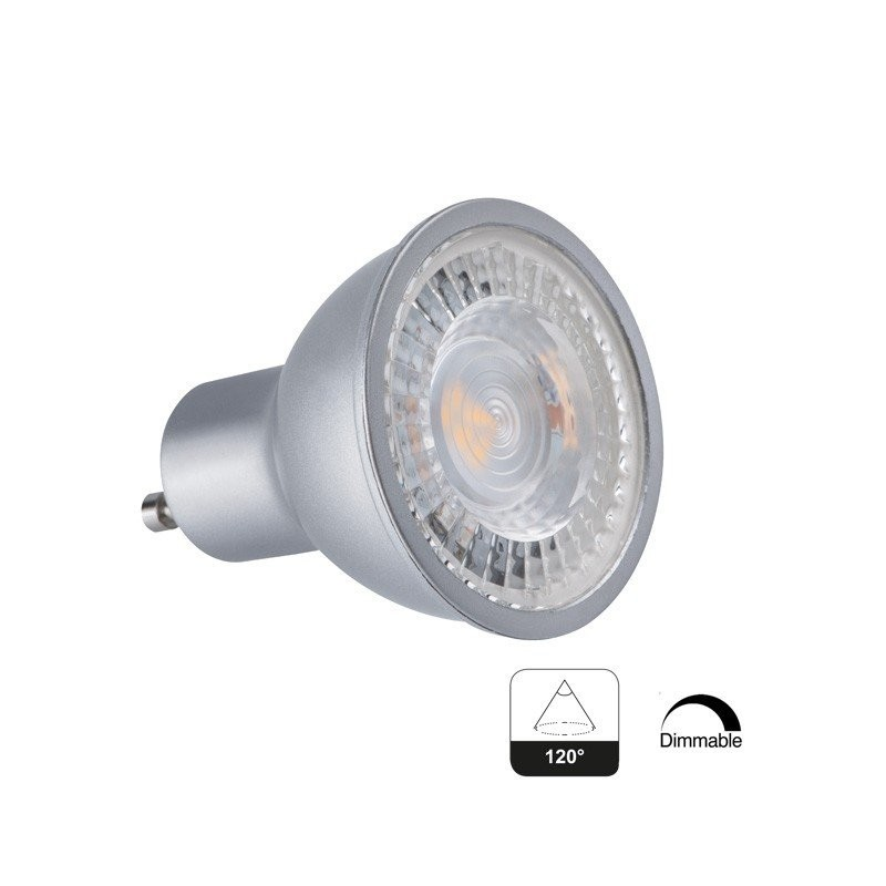 Spot Led Gu10 Angle 120 7 5w Dimmable Achat Spot Led Gu10 - Spot Led Video