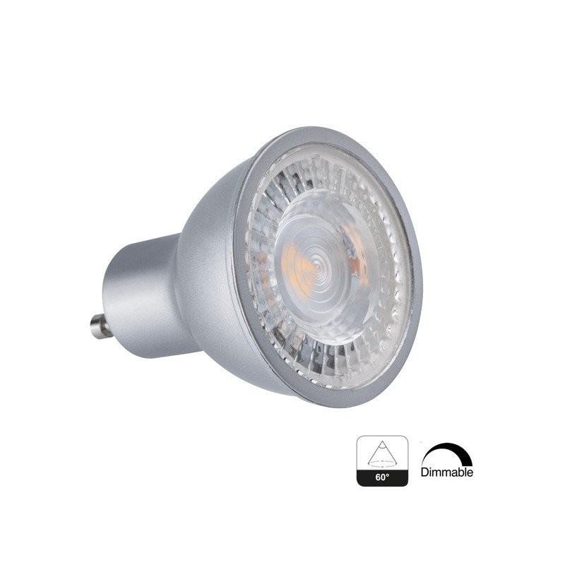 Spot Led Exterieur Dimmable Spot Led Gu10 Angle 60° 7,5w Dimmable - Achat Spot Led Gu10