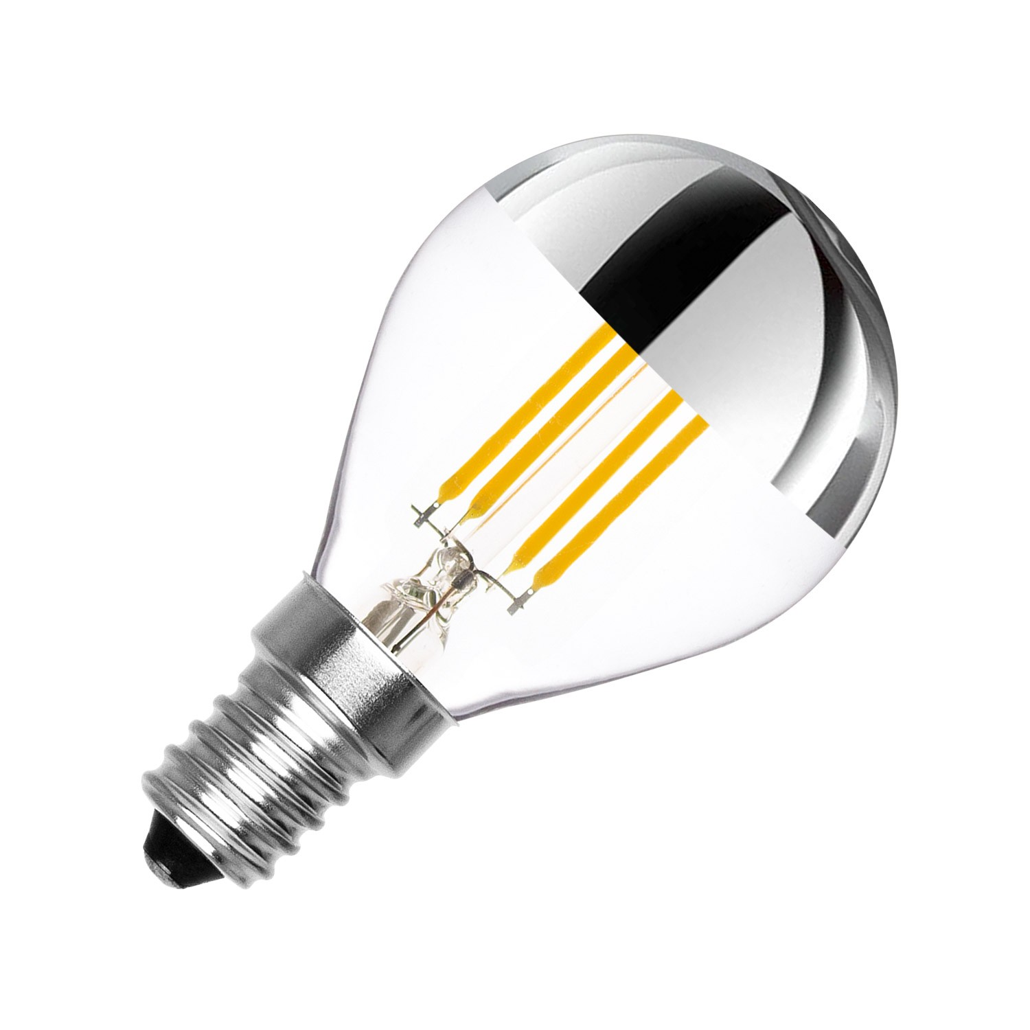 Led Birnen E14 Led Lampe E14 Dimmbar Filament Reflect G45 3 5w