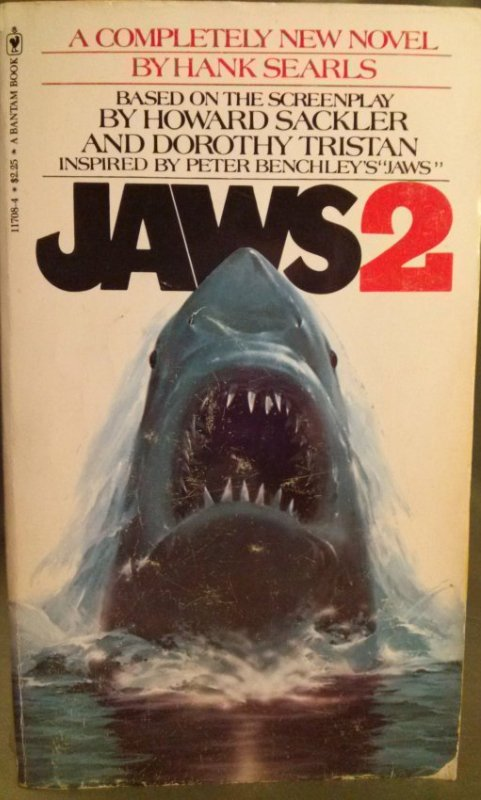 Novel Books Love Forty Years Later The Book Jacket For Jaws » Mobylives