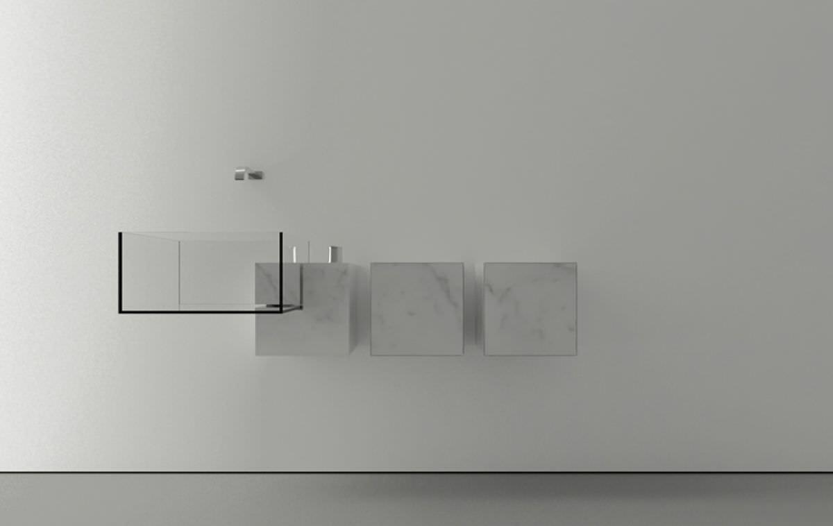 New 3d Hd Wallpaper Free Download Kub Minimalist Basin By Victor Vasilev Architect