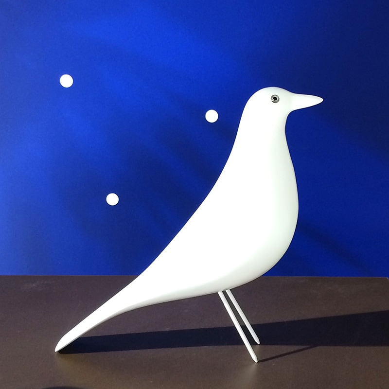 Eames Bird Eames House Bird White Limited Edition - Moises Showroom Blog