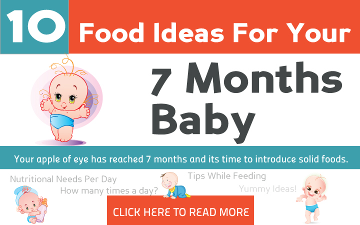 7th Month Baby Food Feeding Schedule With Food Ideas