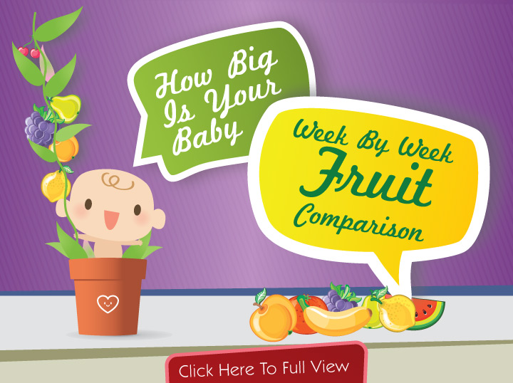 How Big Is Your Baby? Week-by-week Fruit Comparison