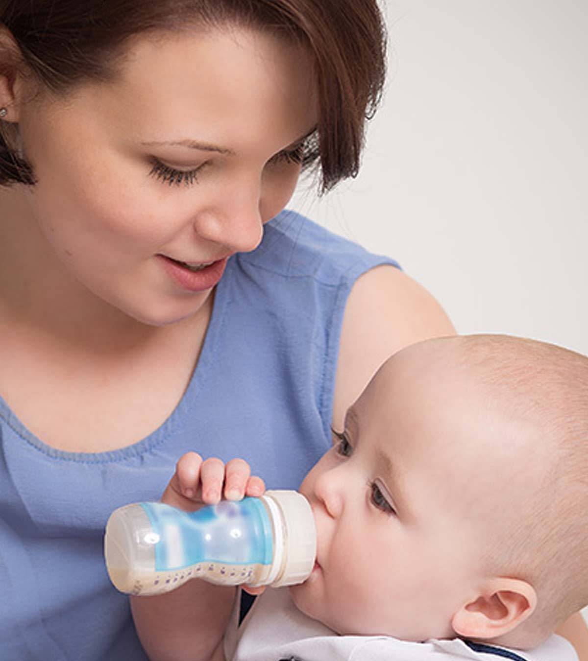 Infant Baby Not Drinking Milk When Babies Can Have Soy Milk And Myths About Soy Formula
